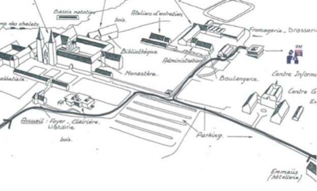 Plan d'accès au SPAF