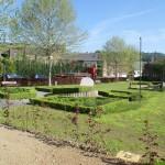 """Le parc du """"Rasteau"""" situé à quelques mètres..."""
